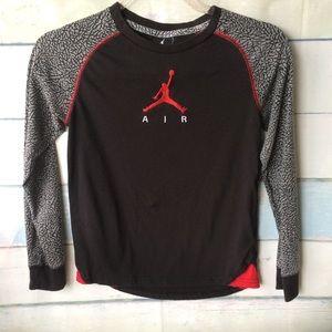 Boys Nike Air Jordan Long Sleeve Shirt